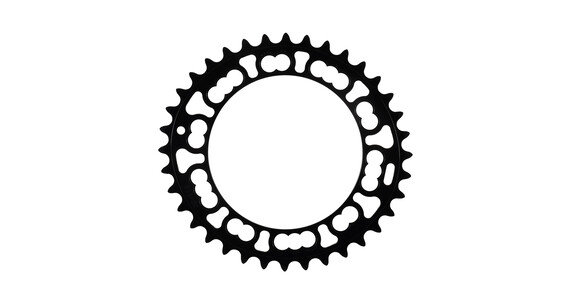 Rotor Q-Ring 110 BCD Chainrings inner position black